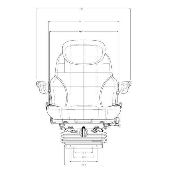 Ersatzteile und Zubehör für Sitz MS 3007A Sears Ersatzteile für ...